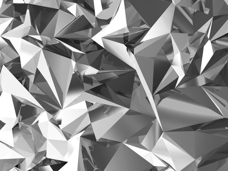 Abstract Crystal Facet Background Stock Photo