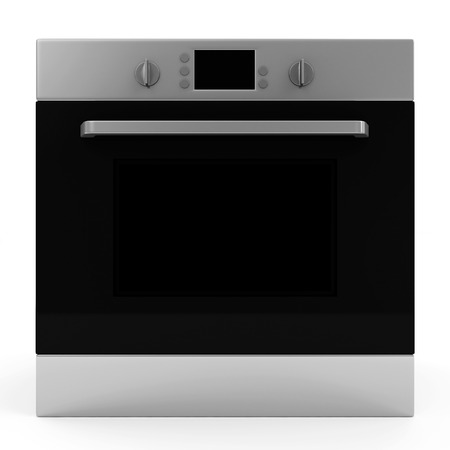 Oven isolated on white background Stock Photo