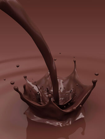 splashy: Pouring Chocolate Splash