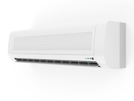 Modern Air Conditioner isolated on white background Stock Photo - 29560731