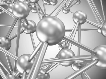 Abstract Illustration of Global Network Concept illustration