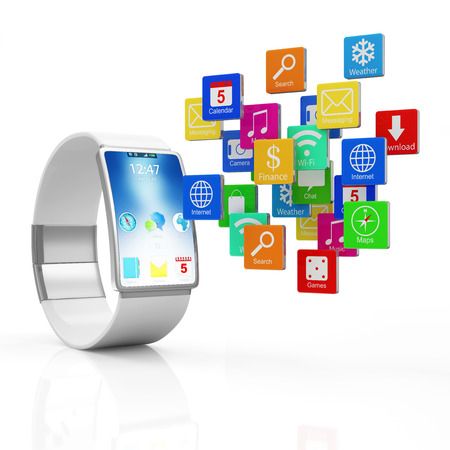 advanced technology: Advanced Technology Concept.  Stock Photo