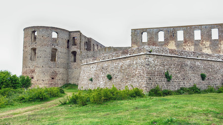 Borgholm Castle on Oland, Sweden.