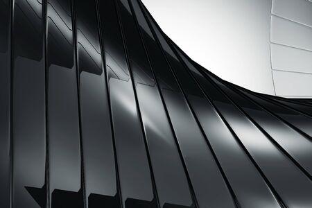 Abstract Black Reflective Stok Fotoğraf - 146347756