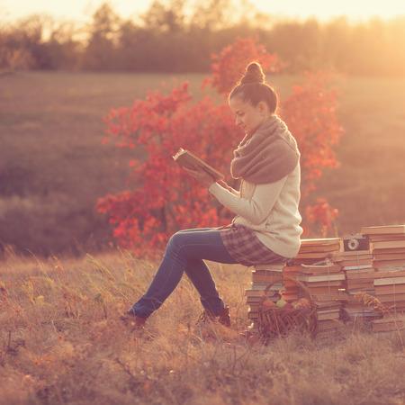 well-read girl