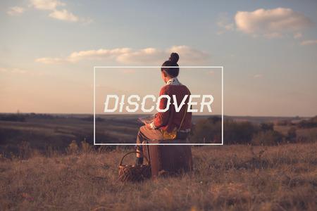 descubrir: Tarjeta de Motivaci�n para descubrir el mundo