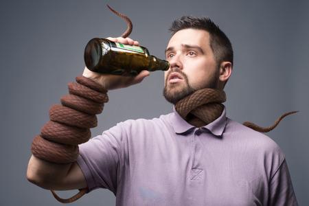 alcoholism concept art