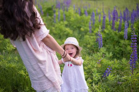 happy moments of parenthood Reklamní fotografie