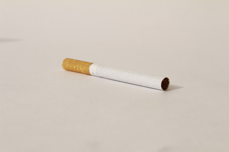 Cigarette non fire isolated on a white background