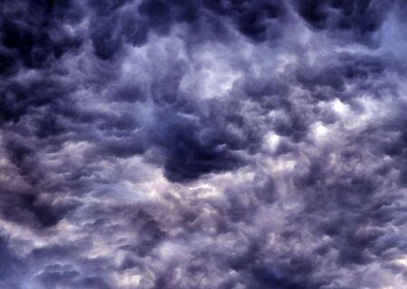 Dark clouds texture Archivio Fotografico