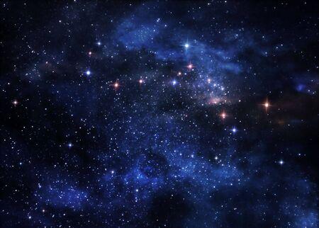 Nebulosas de espacio profundo  Foto de archivo