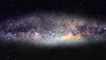 Wide-field photo of majestic Milky Way galaxy