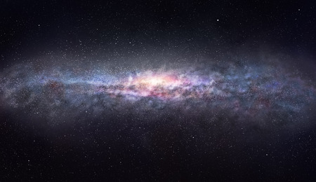 The edge of the galaxy