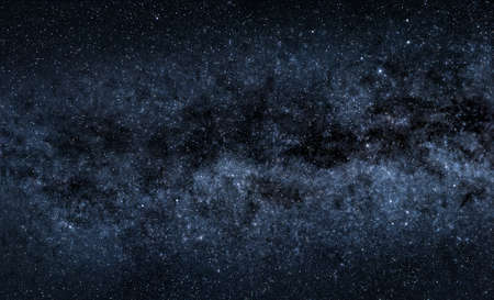 A picture of majestic Milky Way with countless stars