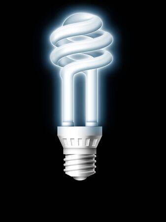 Luminous Tube Lamp Imagens