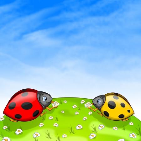 Ladybirds Фото со стока - 4924616
