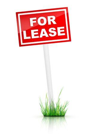 grassplot: For Lease - Real Estate Tablet Stock Photo