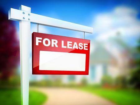For Lease - Real Estate Tablet Reklamní fotografie