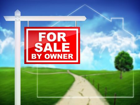 home sale: For Sale by Owner - Real Estate Tablet