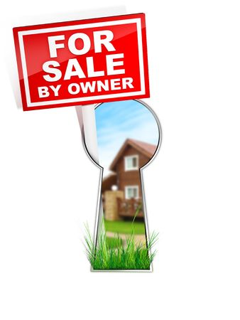 For Sale by Owner - Real Estate Tablet photo