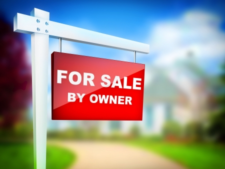 sales agent: For Sale by Owner - Real Estate Tablet