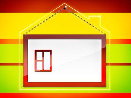 Frame - House Stock Photo - 4924620