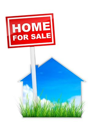 Home For Sale - Real Estate Tablet photo