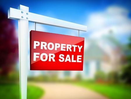 Property For Sale Tablet Stock Photo - 4917282