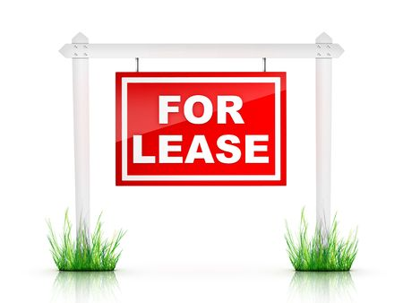Real Estate Sign - For Lease Stock Photo - 5097248