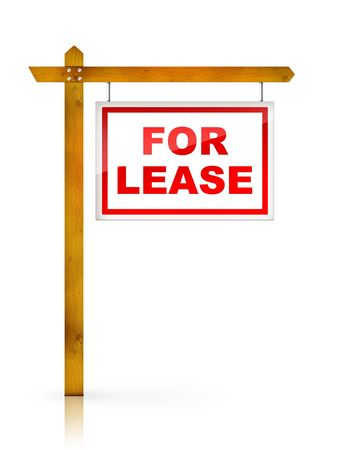 Artwork For Real Estate  - Sign For Lease photo