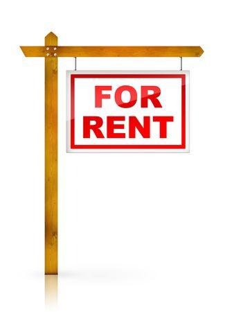 rental: Artwork For Real Estate  - Sign For Rent