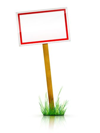 Artwork For Real Estate  - Sign Stock Photo - 5149246