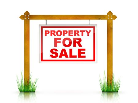 property: Artwork For Real Estate  - Sign Property For Sale