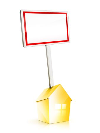 Real Estate Sign Stock Photo - 5149257