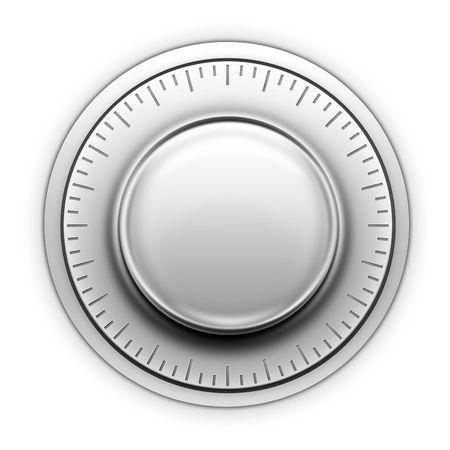Thermostat on the white background. 2D artwork. Computer Designe Stock Photo - 5751325