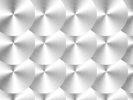 Zwarte metallic patroon. 2D-afbeeldingen. Ontwerp van de computer. achtergrond Stockfoto