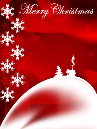 designe: New Year and Christmas Card. 2D Graphic. Computer Designe.