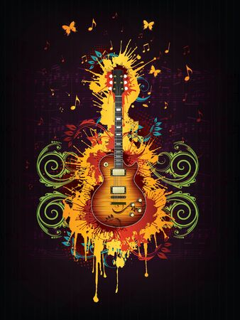 Electric Guitar Stock Photo - 8627738