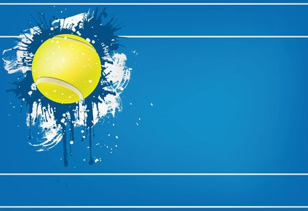 competitions: Tennis ball Illustration