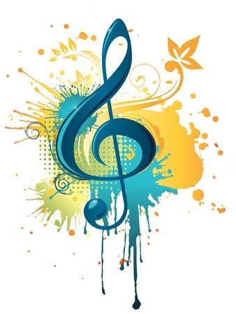 clef de fa: Musique Clef