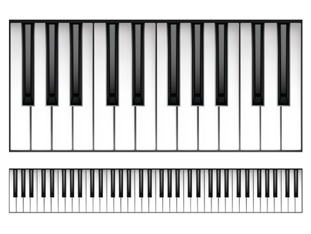 keyboard key: Piano Keyboard