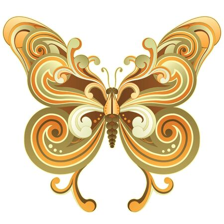 Mariposa Ilustración de vector