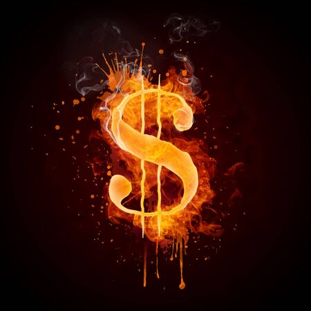 �dollar sign: D�lar en fuego