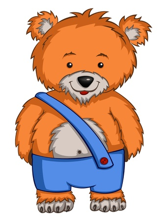 Cartoon Character Bear Stock Vector - 9478261