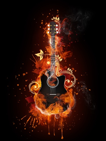 Acoustic - Electric Guitar photo