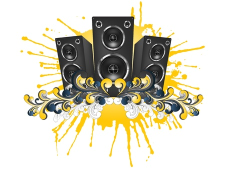 Acoustic Loudspeaker Stock Photo - 9632227