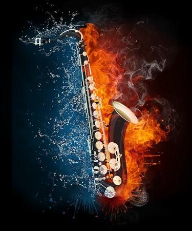Saxophone Stock Photo - 9632226