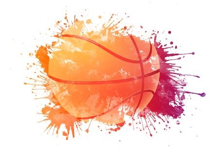 balon baloncesto: Balón de baloncesto Foto de archivo