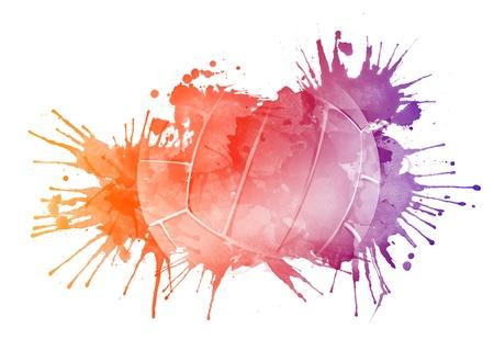 Volleyball Ball Stockfoto