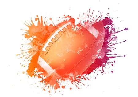 american football background: American Football Ball